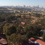 View from Gold Reef City